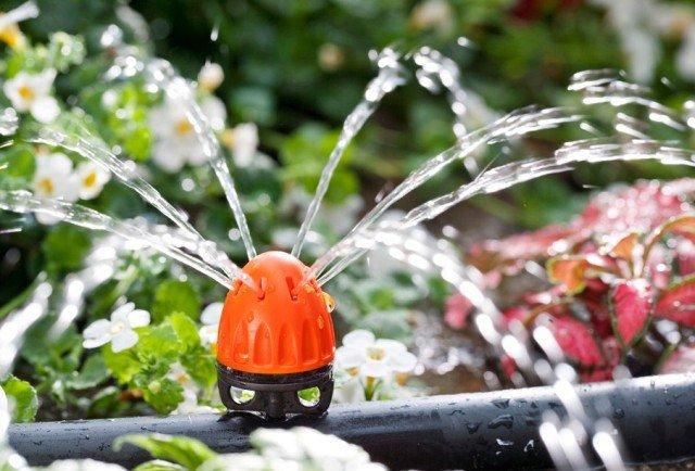 La nuova generazione di gocciolatori claber for Irrigazione orto claber