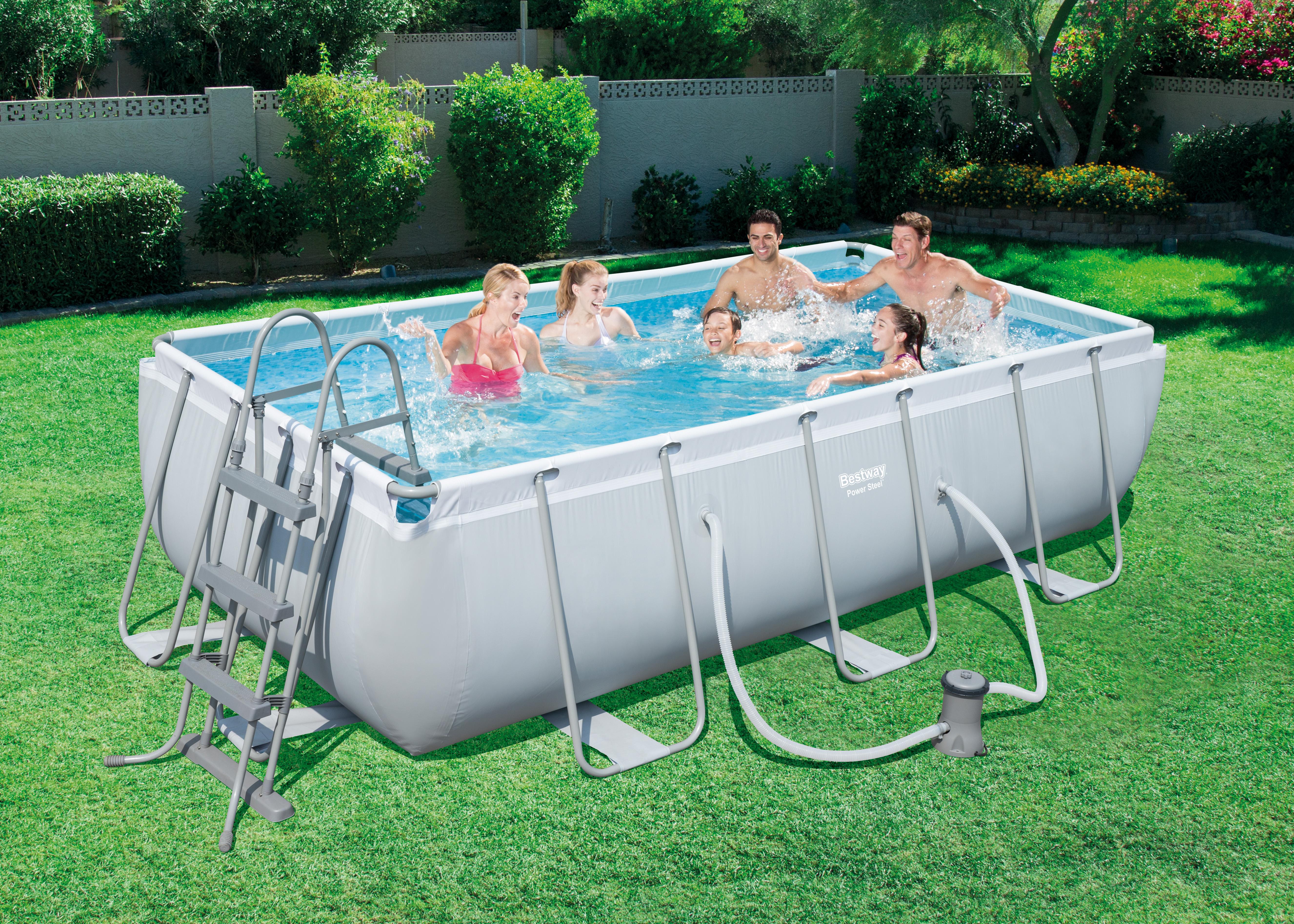 Piscina bestway power steel - Montaggio piscina bestway ...