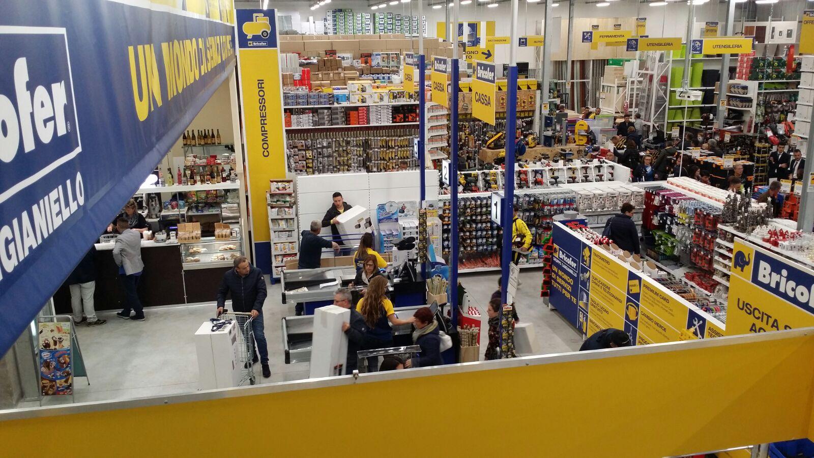 Bricofer ha aperto il sesto punto vendita campano mondopratico.it