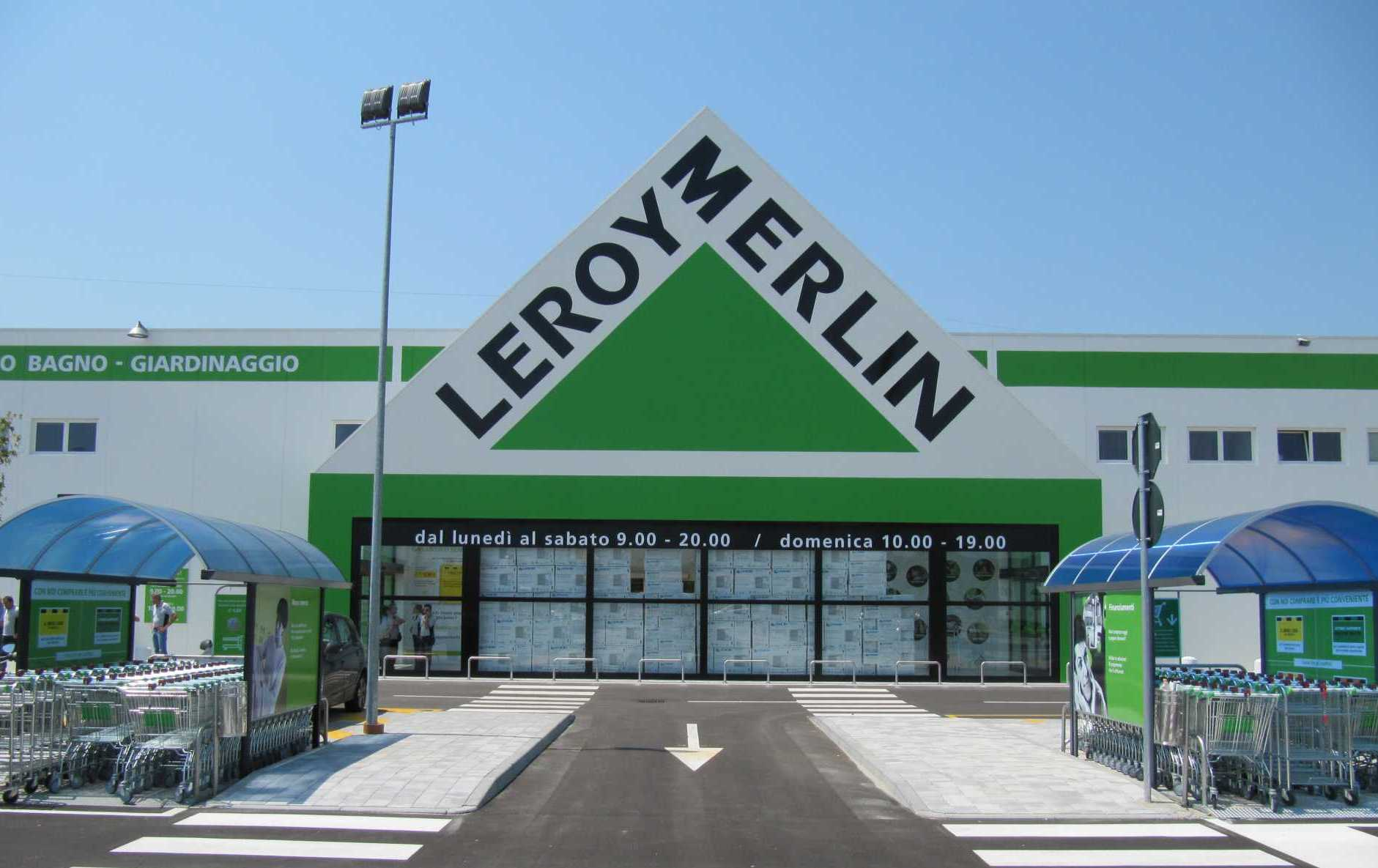 Ecco le foto del nuovo leroy merlin di udine for Abat jour leroy merlin