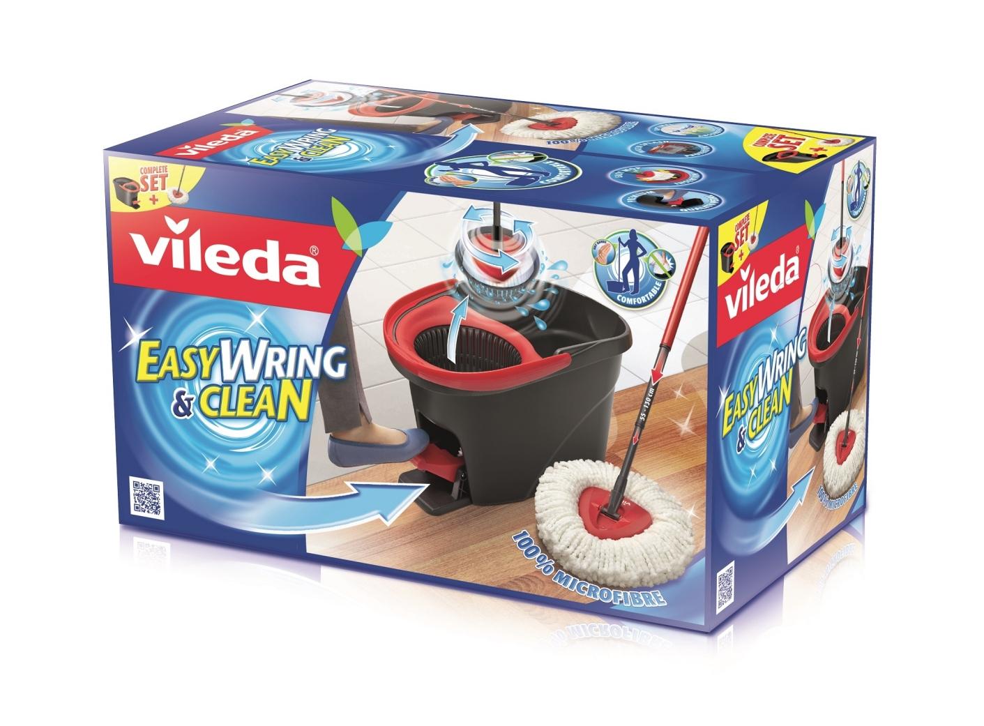 easy wring clean per la pulizia dei pavimenti. Black Bedroom Furniture Sets. Home Design Ideas